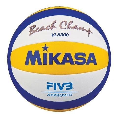 Bola Mikasa Voleibol Beach Champ VLS300 c c - Esportes e ginástica ... a6b6b61a728b4