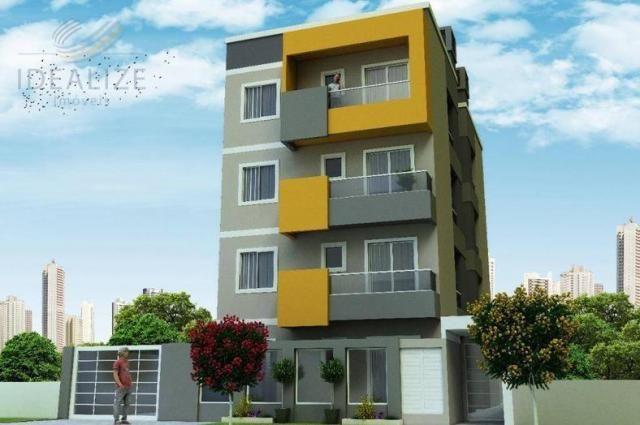 Apartamento à venda com 2 dormitórios em Cruzeiro, São josé dos pinhais cod:1927620