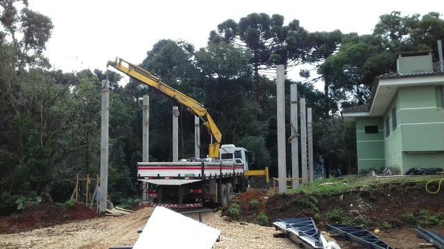 Barracão pré-moldados de concreto, galpões, granjas, estruturas metálicas - Foto 5