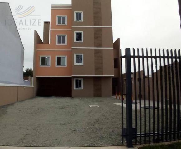 Apartamento à venda com 2 dormitórios em Afonso pena, São josé dos pinhais cod:1841615
