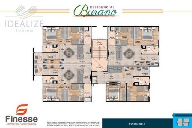 Apartamento à venda com 2 dormitórios em Afonso pena, São josé dos pinhais cod:1726522 - Foto 5