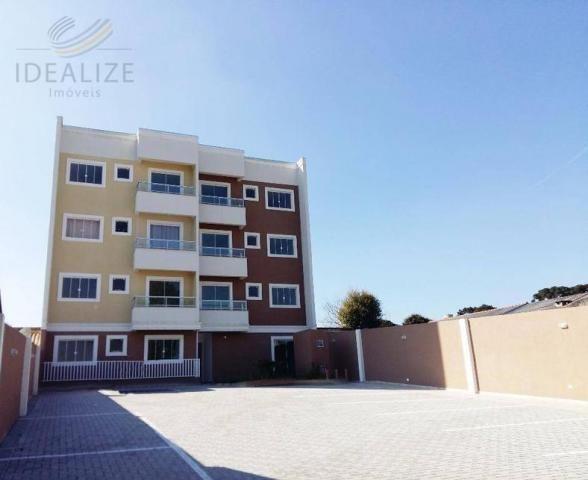 Apartamento à venda com 2 dormitórios em Bom jesus, São josé dos pinhais cod:1401175