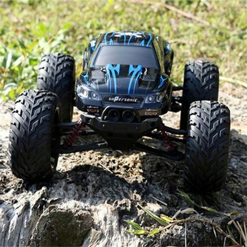 Carro Controle Remoto Motor Turbo Escala 1/12 - 01 Baterias Extra - Foto 6