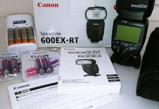 Flash Canon Speedlite 600ex-rt (original Canon) - Foto 2