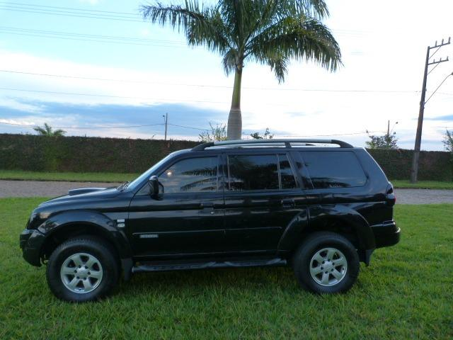 Pagero sport 2.5 4x4 manual a diesel impecavel - Foto 7