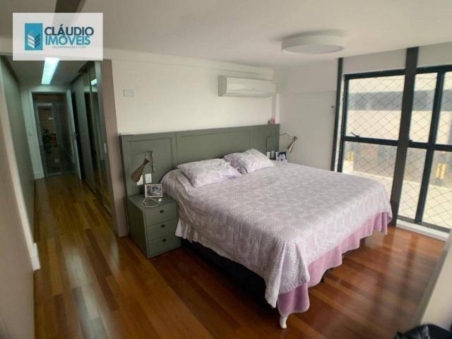 Apartamento com 4 dormitórios à venda, 203 m² por r$ 1.600.000 - jatiúca - maceió/al - Foto 9