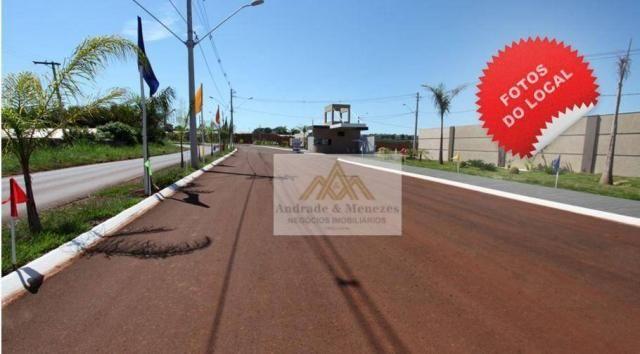 Terreno à venda, 200 m² por r$ 75.000,00 - condomínio verona - brodowski/sp - Foto 4