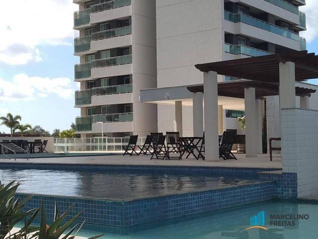 Apartamento com 3 dormitórios para alugar, 110 m² por r$ 2.079,00/mês - salinas - fortalez - Foto 16