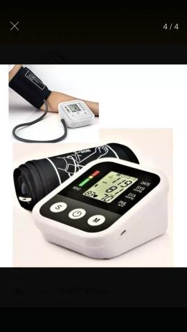 Aparelho Medidor De Pressão Arterial Digital Automático Braço Lançamento
