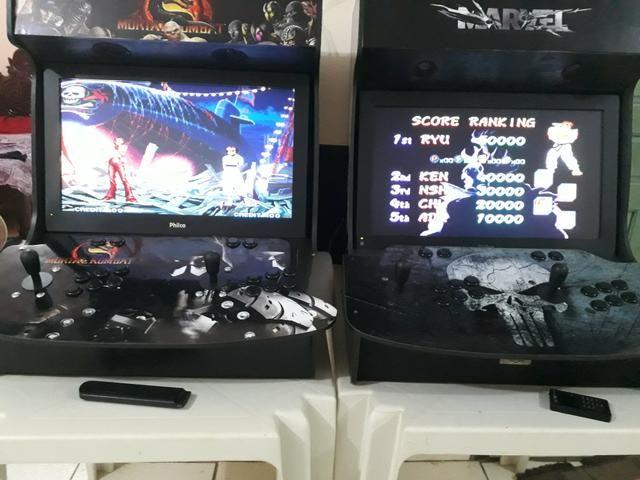 Fliperamas, bartops e controle arcade - Foto 5