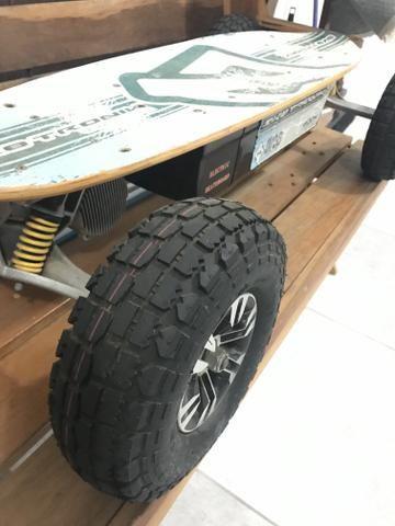 Skate elétrico offroad pouco uso - Foto 3