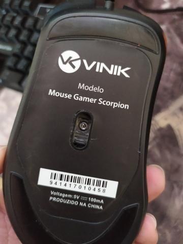 Mouse Gamer 3200dpi RGB