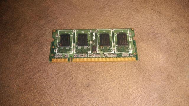 1Gb MEMÓRIA RAM ddr3 NOTBOOK - Foto 2