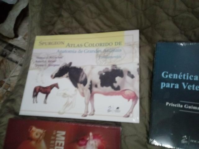8 livros para formacao de veterinarios de grande e pequeno porte - Foto 4