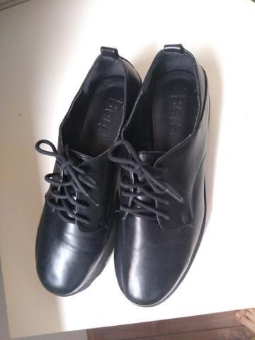 Sapato sola tratorada marca Bershka - Foto 3