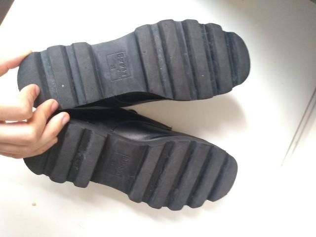 Sapato sola tratorada marca Bershka - Foto 6