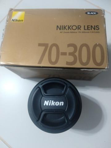 Lente Nikon Nikkor 70-300mm 4-5.6