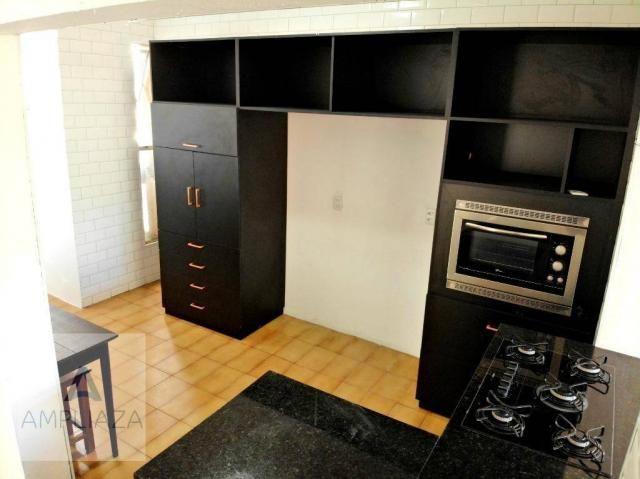 Apartamento com 3 dormitórios para alugar, 238 m² por r$ 2.200/mês - aldeota - fortaleza/c - Foto 7