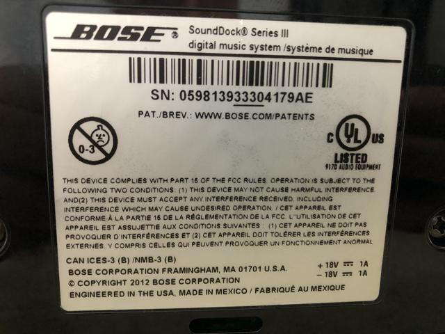 Bose sound dock 3 - Foto 3