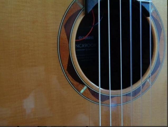 Violão Yamaha NCX 900R / Semi-Acústico - Apenas Venda!! - Foto 4
