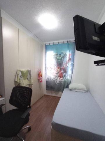 Apartamento com 2 dormitórios à venda, 50 m² por R$ 250.000 - Fazenda Aricanduva - São Pau - Foto 2