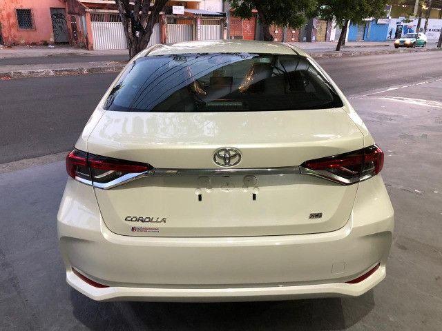 Corolla XEI 2.0 Branco Perola 2021 - Foto 7