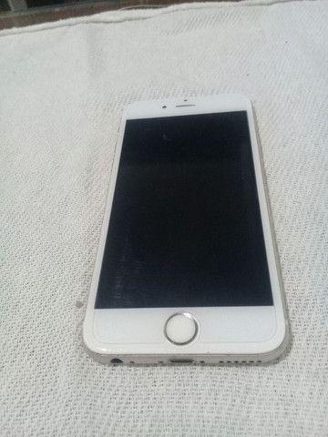Iphone 6 Vendo ou troco por celular  tela bateria e pecas do iPhone 6s - Foto 3