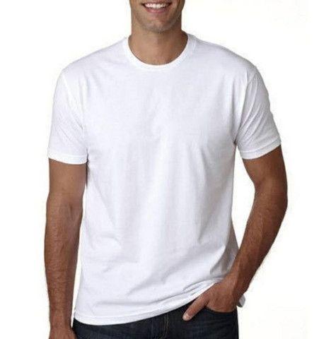 Camiseta Básica 100% Algodão Fio 30/1 - Foto 2