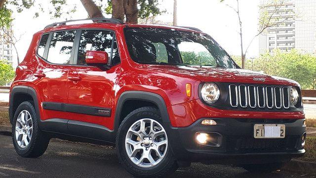 Jeep Renegade Longitude couro revisado impecável!