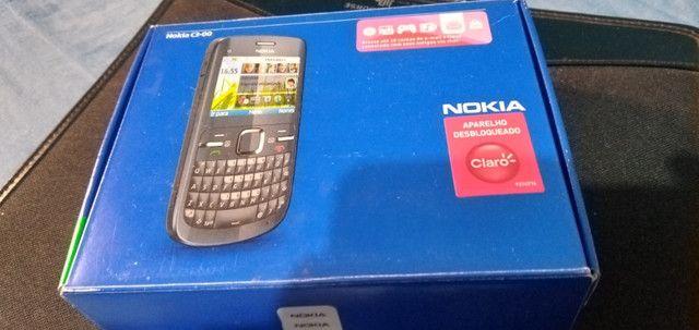 Celular Nokia C3-00 prata sem bateria mas funcionando - Foto 4