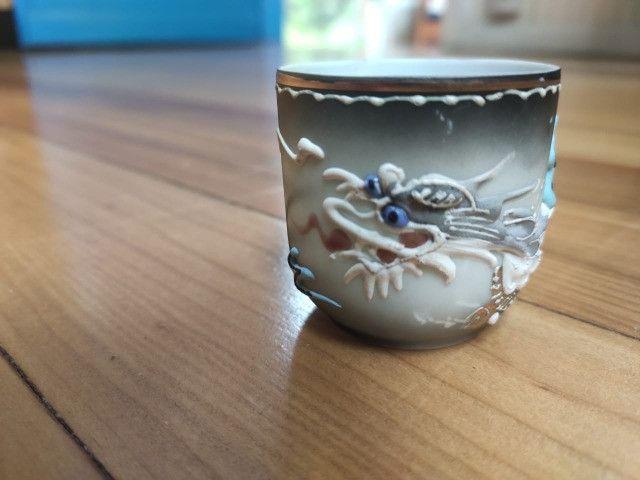 2 Jogos de xícaras de chá Japonesas com Bules - Foto 2