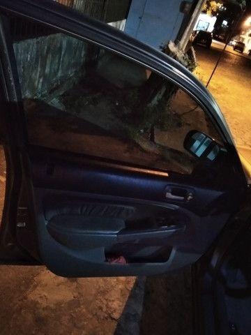 Honda Civic 2005 automático bancada em couro jogo de rodas - Foto 3