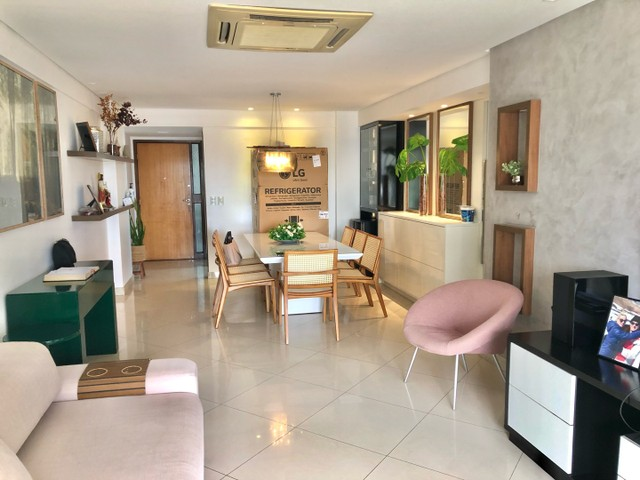 Apartamento com 3/4 completo de armários na ponta verde  - Foto 5