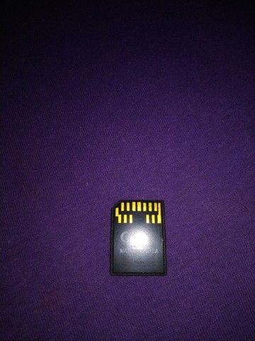 Cartão de memória para celular Nokia N Gage de 256mb - Foto 2