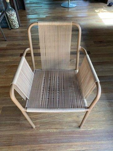3 cadeiras Franccino novinhas!!! - Foto 6