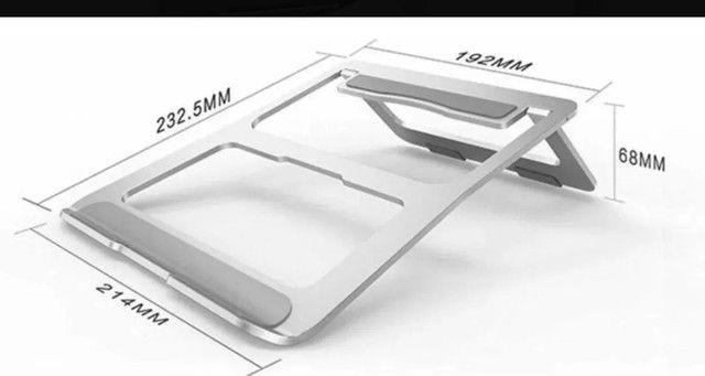 Suporte Para Notebook Macbook Em Alumínio 11 À 16 Polegadas - Foto 6