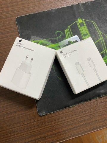 Carregador turbo iPhone e cabo USB-C