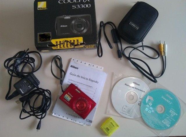 Câmera digital Coolpix S3300 Nikon - Foto 4