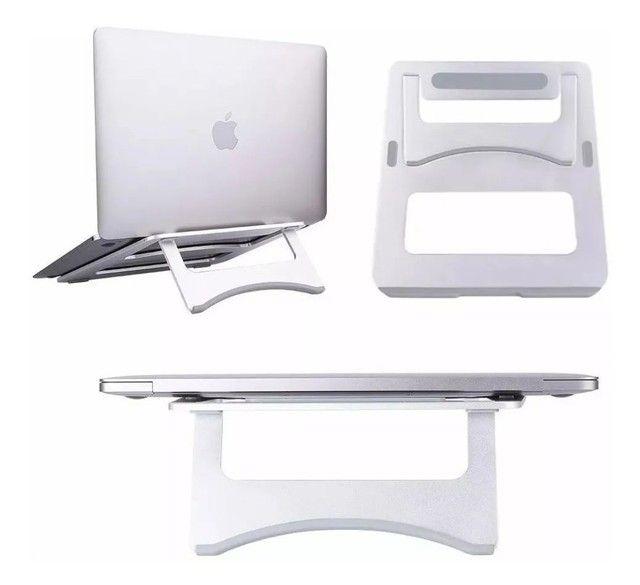 Suporte Para Notebook Macbook Em Alumínio 11 À 16 Polegadas