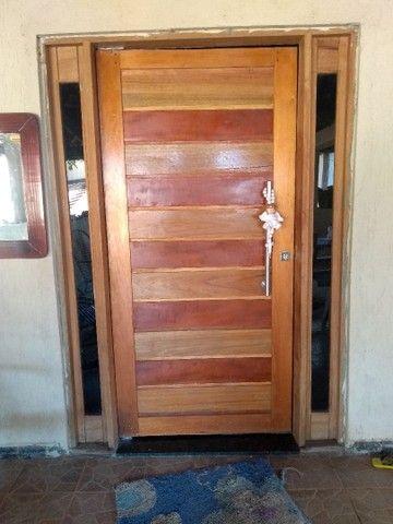 Porta Madeira Maciça 1 mt - Foto 5