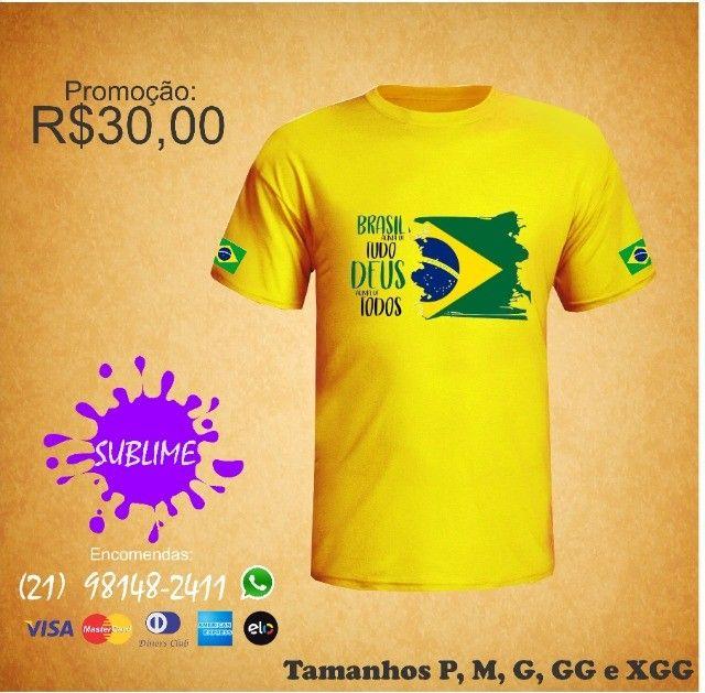 Camisa ProBrasil sublimada - Foto 2