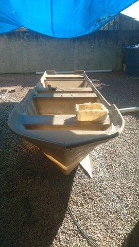 Barco batera bote lancha de fibra  - Foto 8