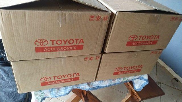 Rodas aro 15 Toyota Yaris novas - Foto 6