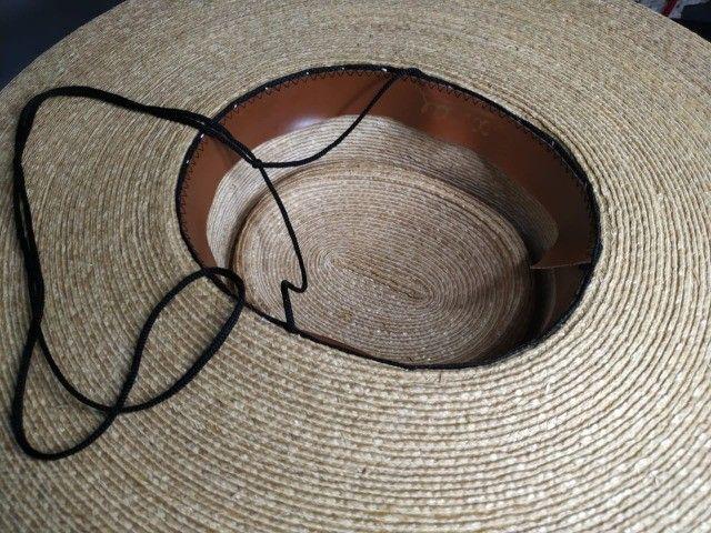 Chapéu chileno com estojo- Sombrero Chupalla - Foto 6