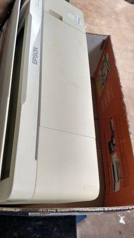 Impressora copiadora scanner Epson stylus TX123 - Foto 4
