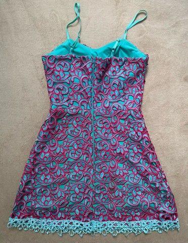 vestido curto guipir  - Foto 3