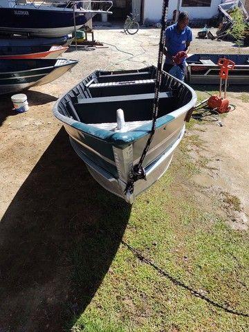 Barcos alumínio novos e usado  - Foto 2