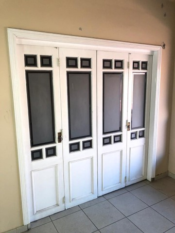 Porta Camarão Dupla em Madeira cor Branca