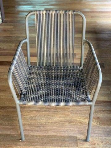 3 cadeiras Franccino novinhas!!! - Foto 3