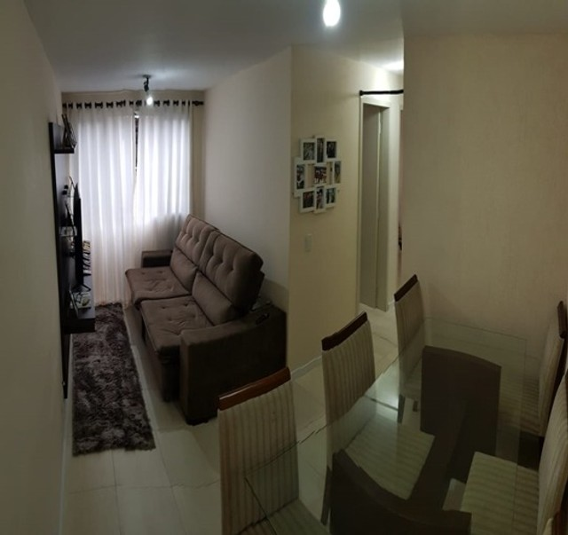 Apartamento_com 3 quartos semi mobiliado no Fazendinha - Foto 3